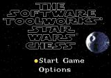 The Software Toolworks' Star Wars Chess SEGA CD Title screen