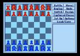 Star Wars Chess SEGA CD Alternate game view/expanded options by pressing B