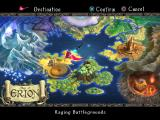 Odin Sphere PlayStation 2 Overworld map