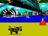 World Karate Championship ZX Spectrum Opening up a can of Whoop-Ass on each other.