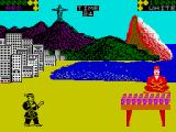 World Karate Championship ZX Spectrum The bonus game in Rio