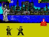 World Karate Championship ZX Spectrum The arena in New York