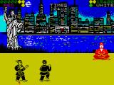 World Karate Championship ZX Spectrum Winding up for a roundhouse kick