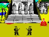 World Karate Championship ZX Spectrum On tape side 2, you start in Egypt