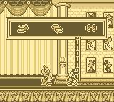 Mickey's Ultimate Challenge Game Boy Mickey gains a bar of gold.