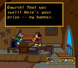 Mickey's Ultimate Challenge Genesis Minnie gains Goofy's mallet.