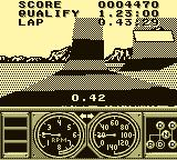 Race Drivin' Game Boy Entering the  Loop
