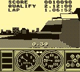 Race Drivin' Game Boy Elevated Roadway