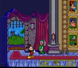 Mickey's Ultimate Challenge SNES Mickey gains a bar of gold.