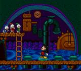 "Mickey's Ultimate Challenge SNES Mickey must fiTo fix the draw-bridge, he plays a ""Simon Says"" game.x the draw-bridge."