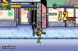 TMNT Game Boy Advance Score multiple hits in a short period of time and you'll get bonus points!