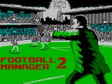 Football Manager 2 ZX Spectrum Loading screen
