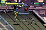 TMNT Game Boy Advance Rooftop showdown with foot ninjas
