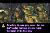 TMNT Game Boy Advance Something big is going on