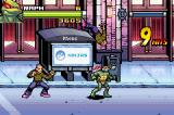 TMNT Game Boy Advance Juggling some thugs