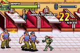 TMNT Game Boy Advance Cleaning up the retro diner