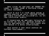 "Serra Pelada MSX Introduction - ""Good luck, and that your dreams turn into reality..."""