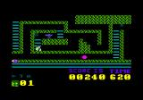 Sir Lancelot  Amstrad CPC Collecting a cross