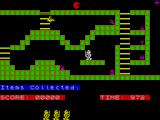 Sir Lancelot  ZX Spectrum Game start