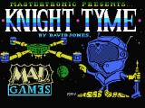 Knight Tyme MSX Loading screen