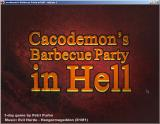 Cacodemon's Barbecue Party in Hell Windows Title screen