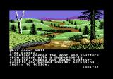 Gnome Ranger Commodore 64 A winding road