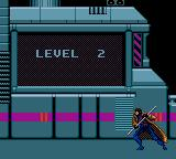 X-Men: Mojo World Game Gear Level two character selection, Gambit is in now...