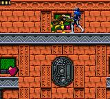 X-Men: Mojo World Game Gear Rogue fighing Mojo's guards.