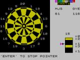 One Hundred and Eighty! ZX Spectrum 61 is an awkward number to finish from - treble seven then double top, maybe