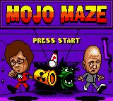 Austin Powers: Welcome to My Underground Lair! Game Boy Color Mojo Maze Title Screen