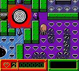 Austin Powers: Welcome to My Underground Lair! Game Boy Color The bit on the left is the maze you use in Austin Powers - Oh Behave