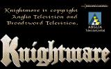 Knightmare Amiga Title screen