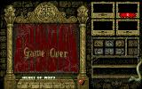 Knightmare Amiga Game over