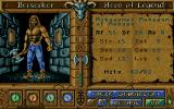 Worlds of Legend: Son of the Empire Amiga Character customization