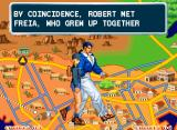 Art of Fighting 3: The Path of The Warrior Neo Geo Your character moves to different points in the map as the story advances.
