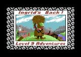 Ingrid's Back! Commodore 64 Loading screen