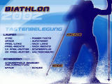 Biathlon 2002 Windows Main menu