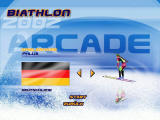 Biathlon 2002 Windows Select your athlete
