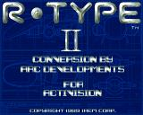 R-Type II Amiga Loading...