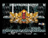 R-Type II Amiga The boss at the end of level 2.