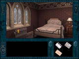 Nancy Drew: Treasure in the Royal Tower Windows Nancy's bedroom - where it all starts