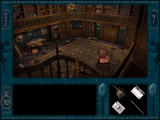 Nancy Drew: Treasure in the Royal Tower Windows Just getting into the vandalized library is one of the puzzles you must solve