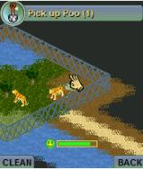 Zoo Tycoon 2 Mobile J2ME Picking up poo. (v1.1.7)