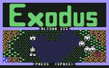 Exodus: Ultima III Commodore 64 Demo scene