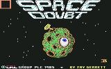 Space Doubt Commodore 64 Title screen