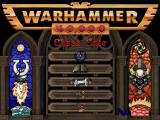 Warhammer 40,000: Chaos Gate Windows Menu