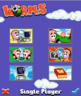 Worms   J2ME Worms v1.3.3 main menu