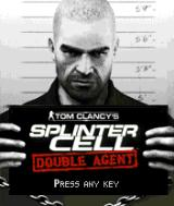 Tom Clancy's Splinter Cell: Double Agent J2ME Main menu