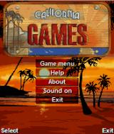 California Games J2ME Main menu