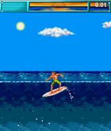 California Games J2ME Surfing event
